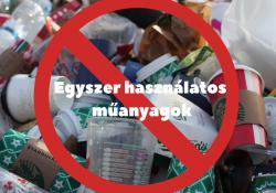 Egyszer használatos műanyag evőeszköz, tányér, szívószál és csomagolóanyagok, júliustól agyő!